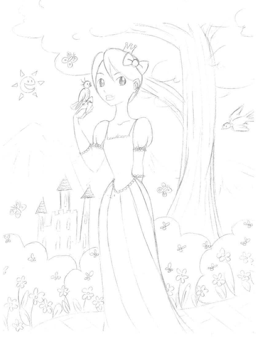 snow white (?) maybe by Aliena