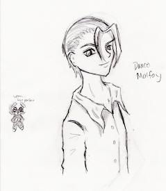 Draco Malfoy by Allama