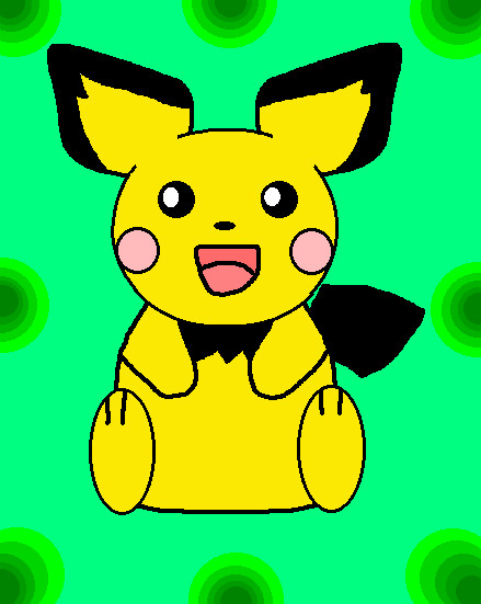 Pichu by AlleyCat17