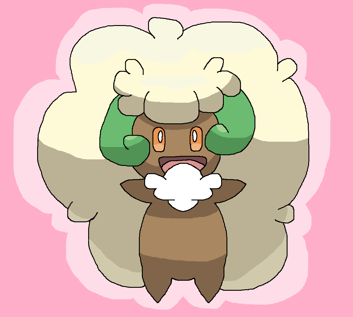 Whimsicott by AlleyCat17