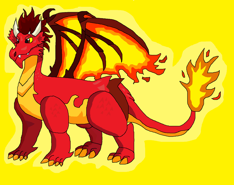 Inferno The Fire Dragon by AlleyCat17
