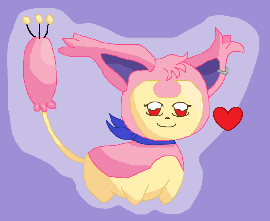 Myu The Skitty by AlleyCat17