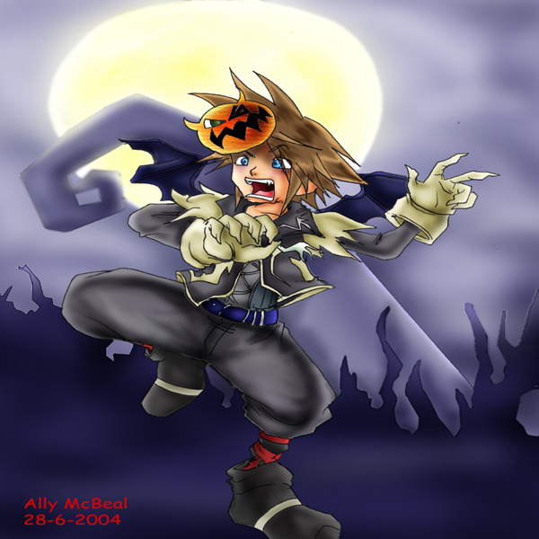 scared sora by AllyMcBeal