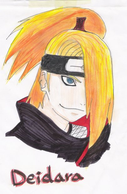 deidara by Alpha777