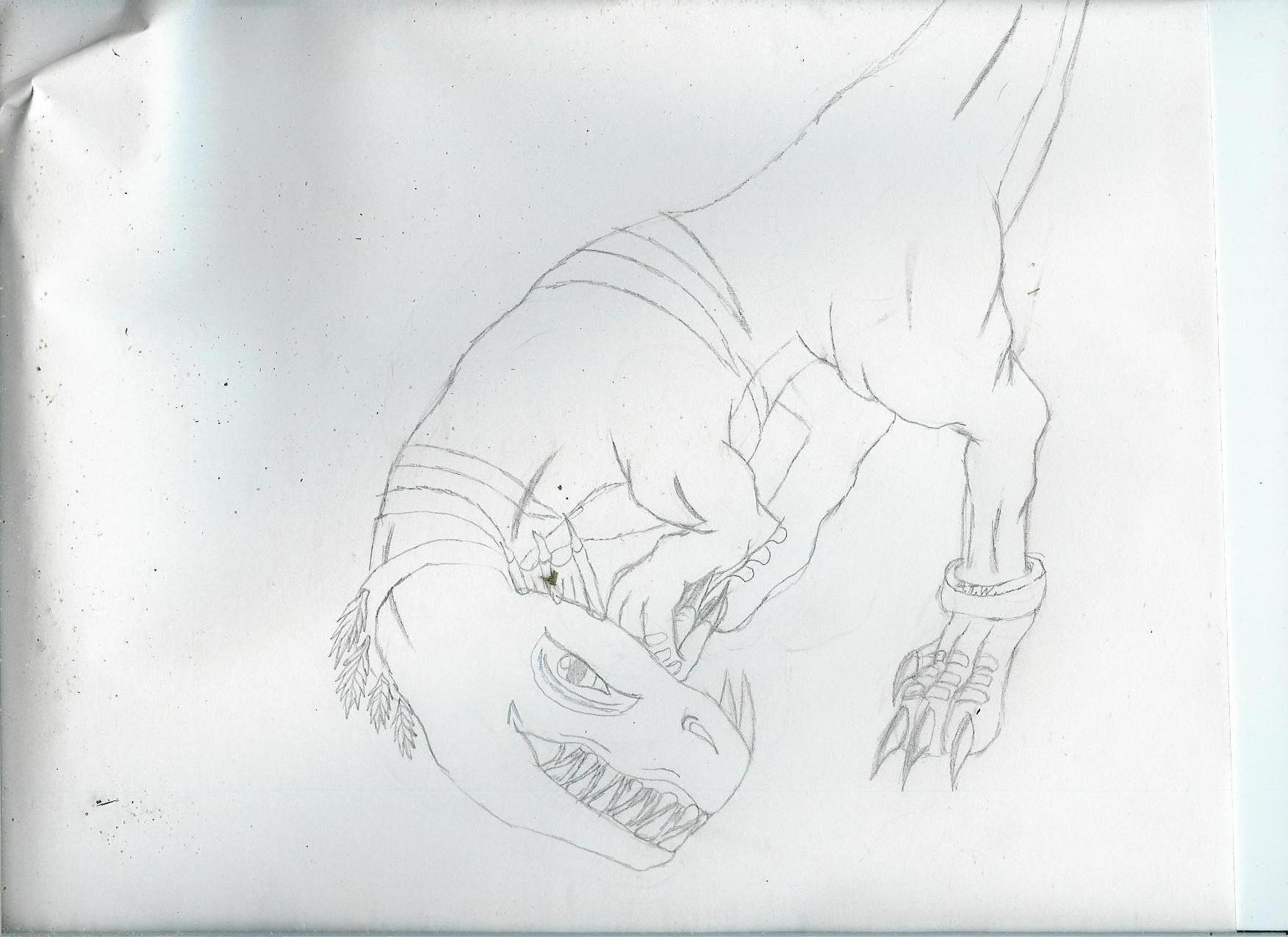 raptors(request from freddyjasonV) by AlphaTimberWulf