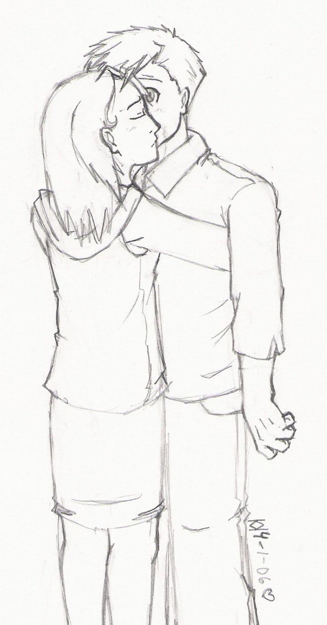 Ceili comforts Alphonse *dawww* by Alphonse_Lover