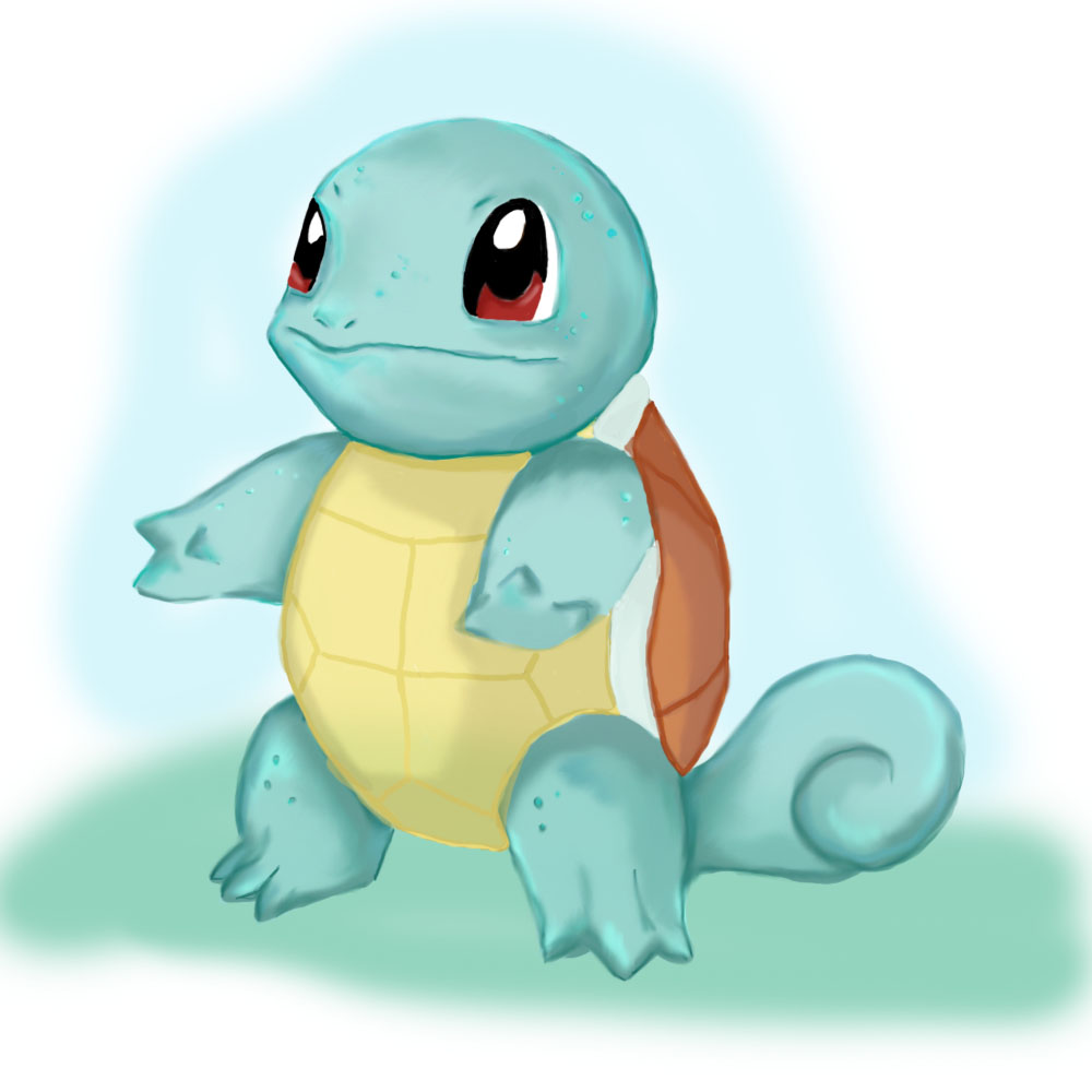Squirtle by AmandaB