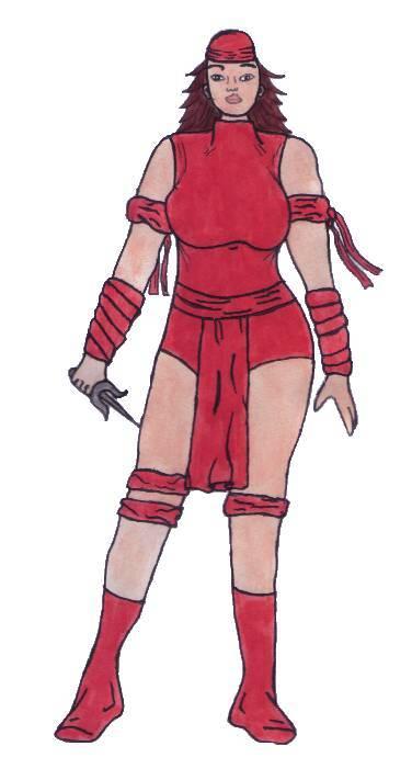 Elektra by Amazonboy