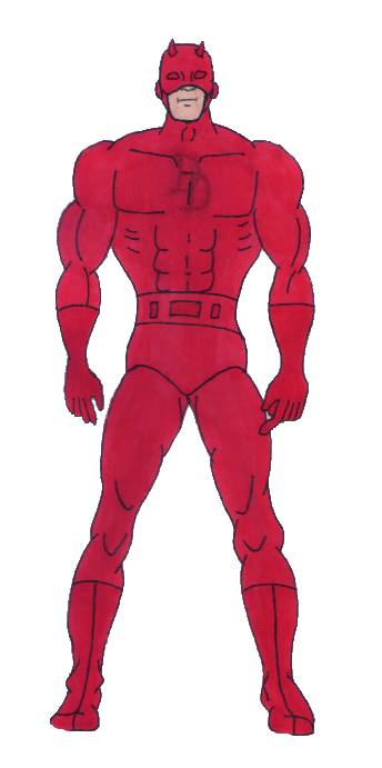 Daredevil by Amazonboy