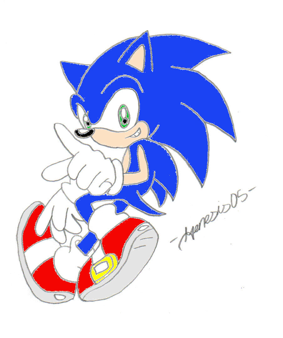 A pic of Sonic^^ by Amyfan2004