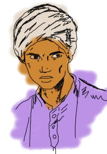 Hadji 5 by Andrea