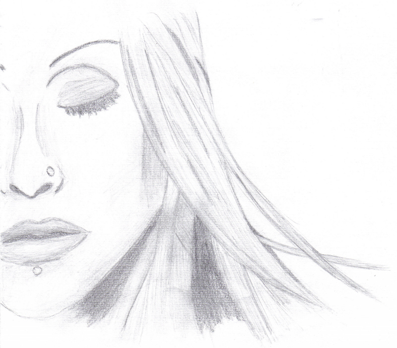 Christina Aguilera Sketch by Andrea