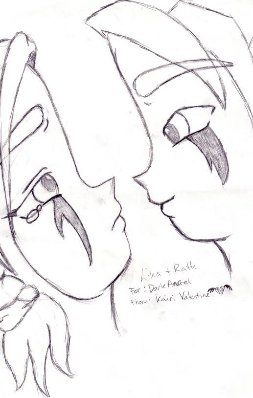 !!Request!! Dont cry... -Lina and Rath- by Angel_Kairi