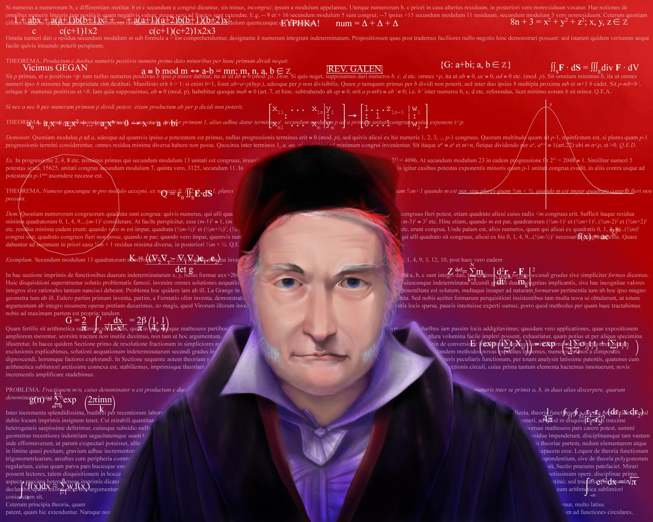 Princeps Mathematicorum by AngelusMortis