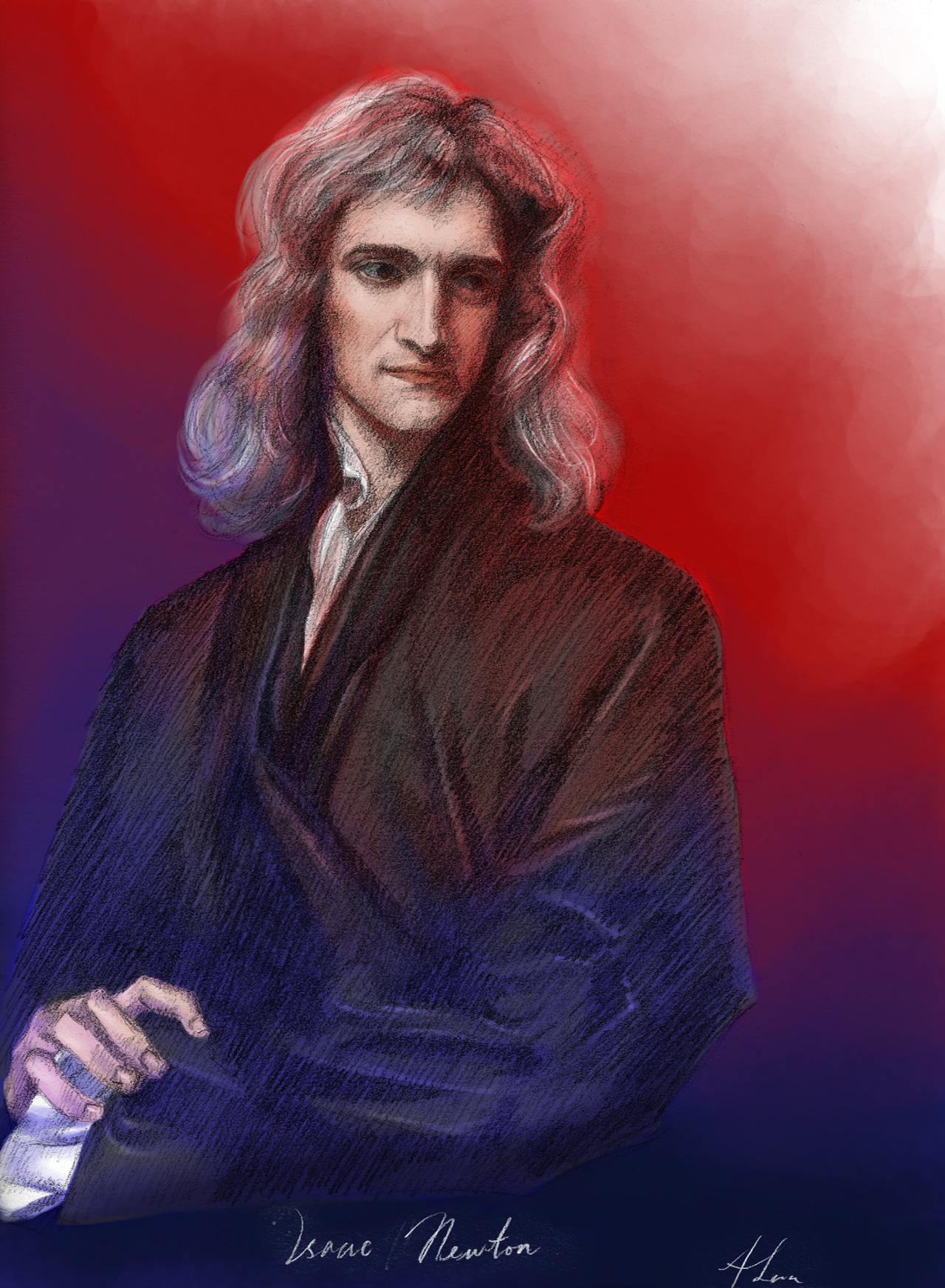 Newton by AngelusMortis