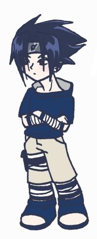 Chibi Sasuke by Angie-chan