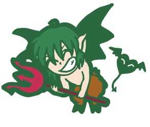 Lil' Devil Kishu!! by Angie-chan