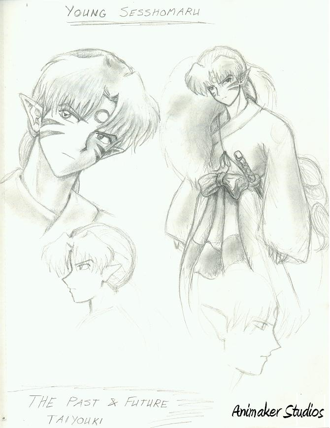 Young Sesshomaru by Animaker131