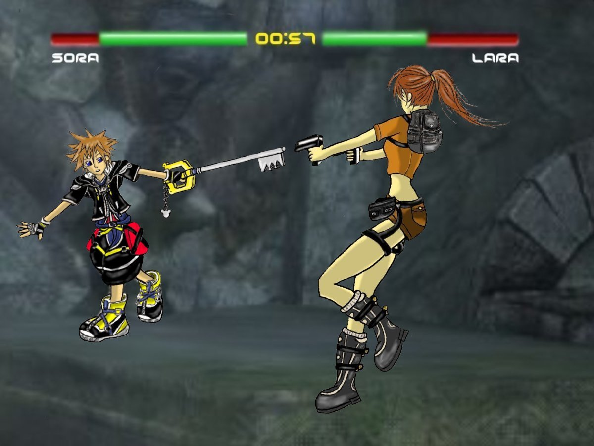 Keybearer VS Tombraider by Anime17