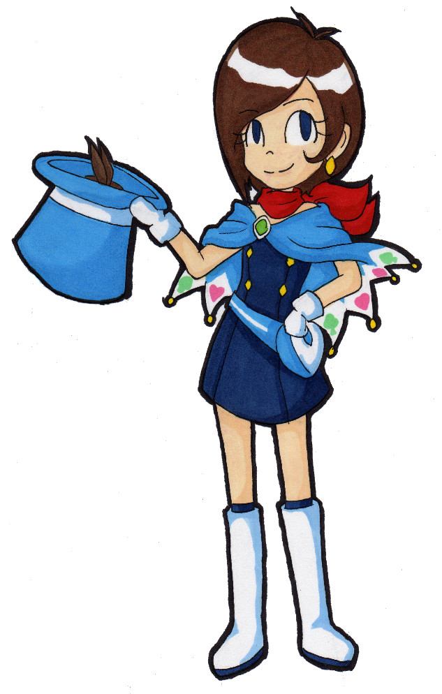 AJ - Chibi Trucy by AnimeChick21