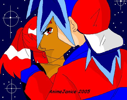 **Tyson kissing Desirea** by AnimeJanice