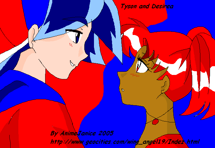**Tyson and Desirea** by AnimeJanice
