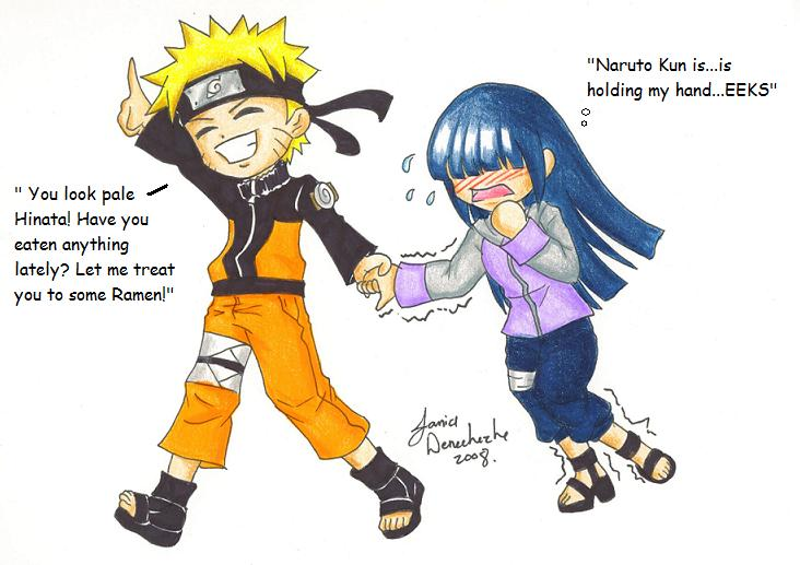 Naruto and Hinata's date? by AnimeJanice