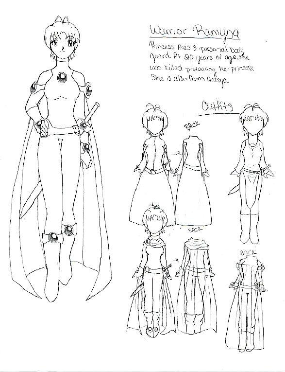 Profile: Warrior Ramyna by AnimeMangaLover