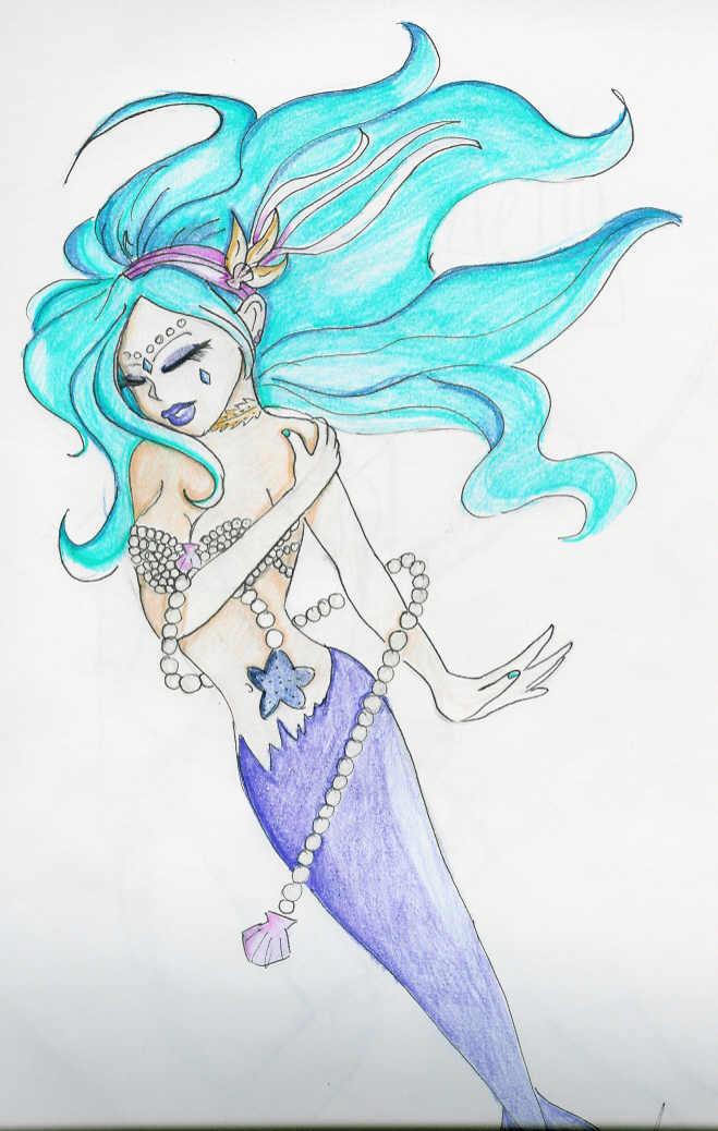 Pearl Mermaid by AnimeNight01