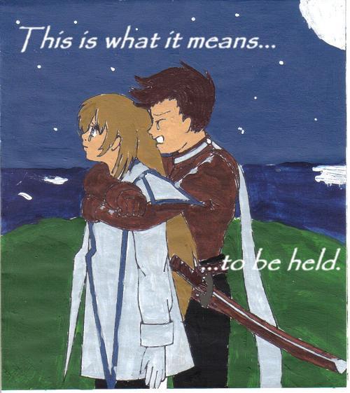 Held by AnimeSketch85