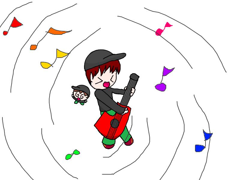 Wizard apprenitce Jon( or guitarist) by Anime_Ellie