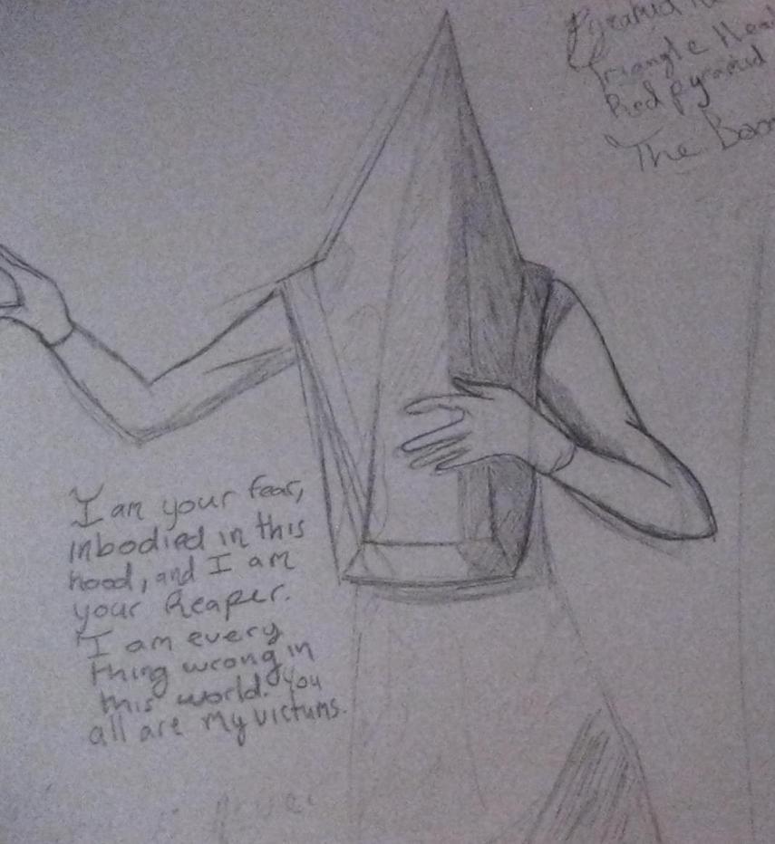 Pyramid Head by Anime_Eyes
