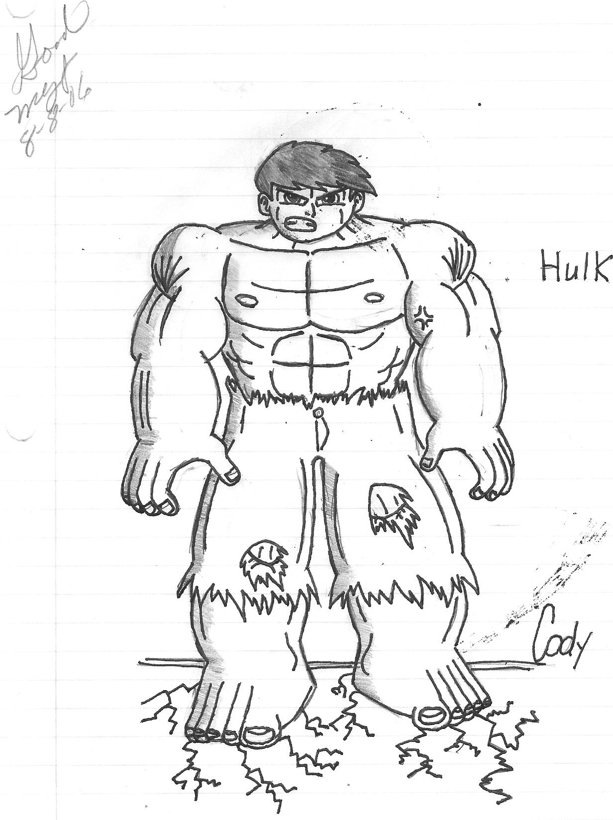 The Hulk by Animerocker