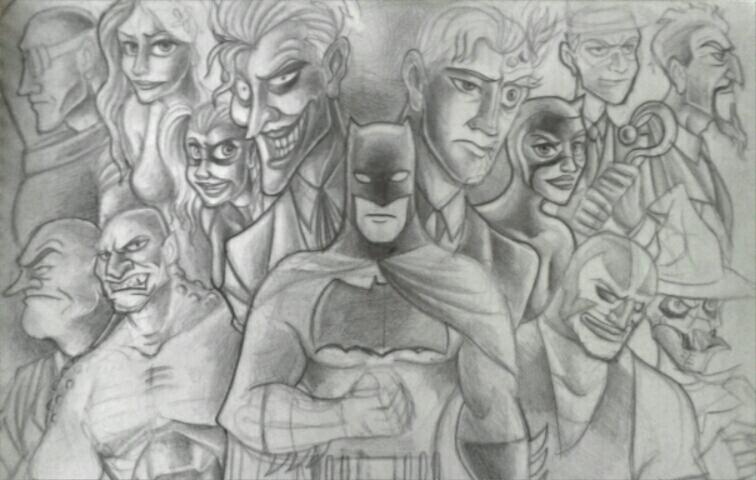 Batman in Disney style by AntiSJWSaint