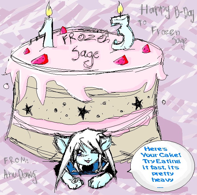 Early B-Day Gift to FrozenSage by AnuDawg