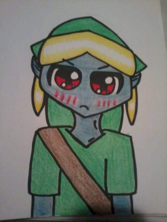 Angry BEN DROWNED is cute. by Aoharu