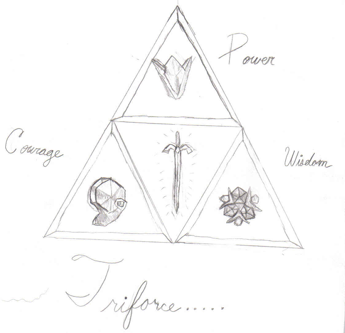 Triforce by AquaGirl