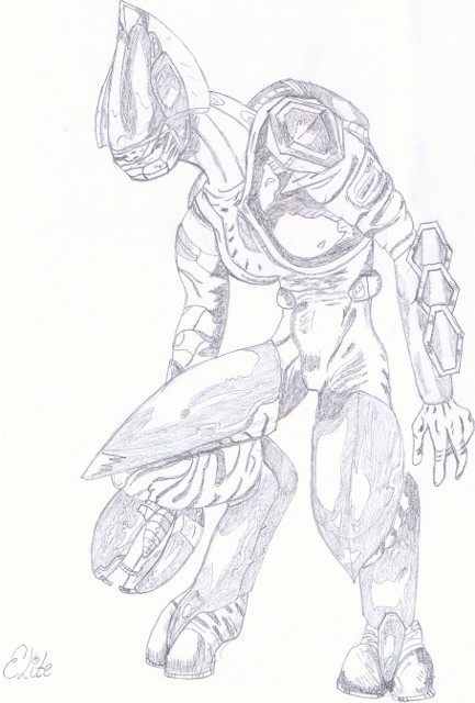 Honor guard from Halo by Arby1055