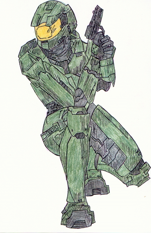 Master Chief by Arby1055