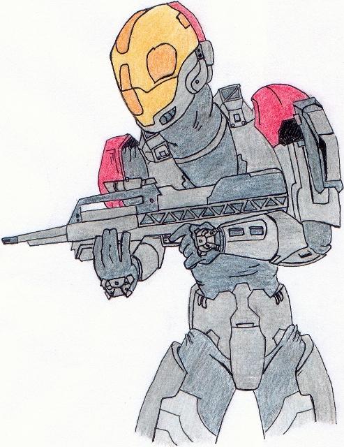 Halo 3 - E.V.A armor by Arby1055