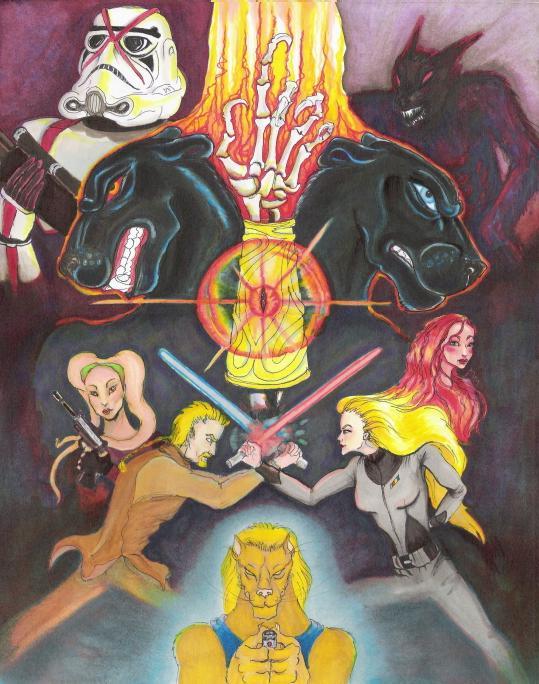 The Bracers of Najus by AriaGunnir