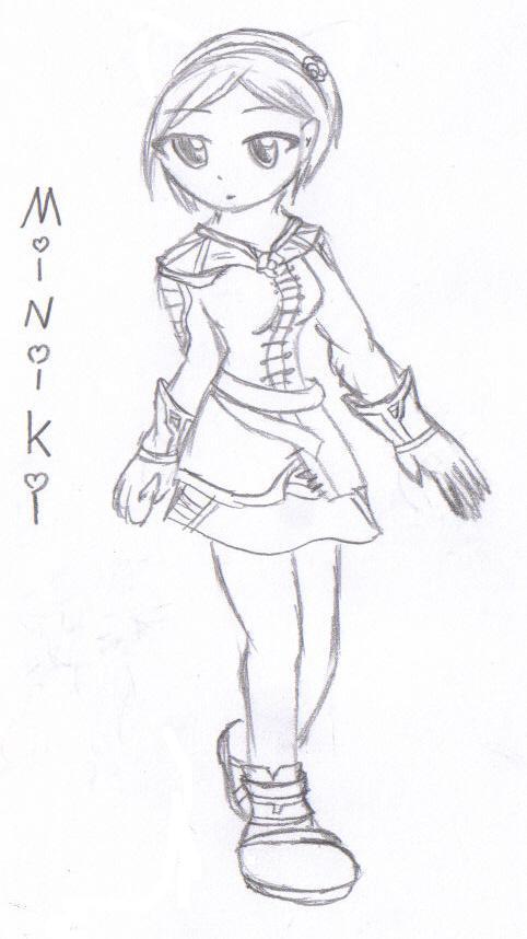 Flyff character: Miniki by Ariya_Eretsee