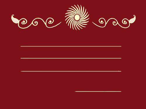 Wedding Invitations - Draft 1 by Arohk