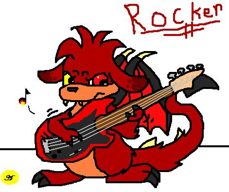 Rocker *For Cartoonz* by Arpeggio