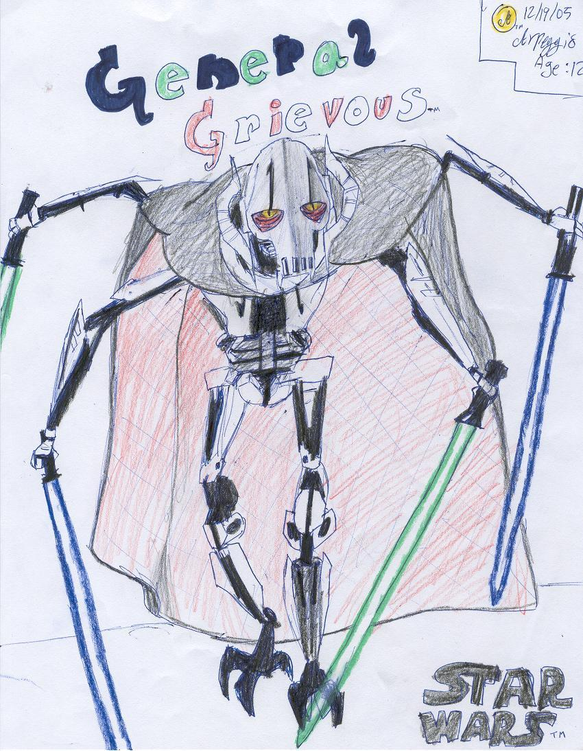 !!!general grievous!!! by Arpeggio