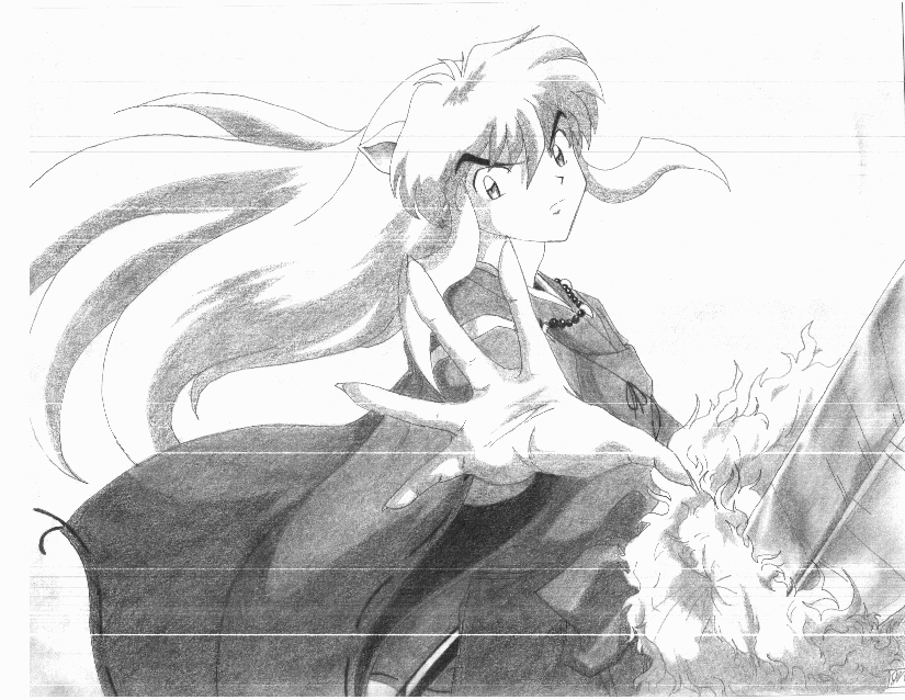 """Inuyasha""""come to me"""" by ArtistinTraining56"""