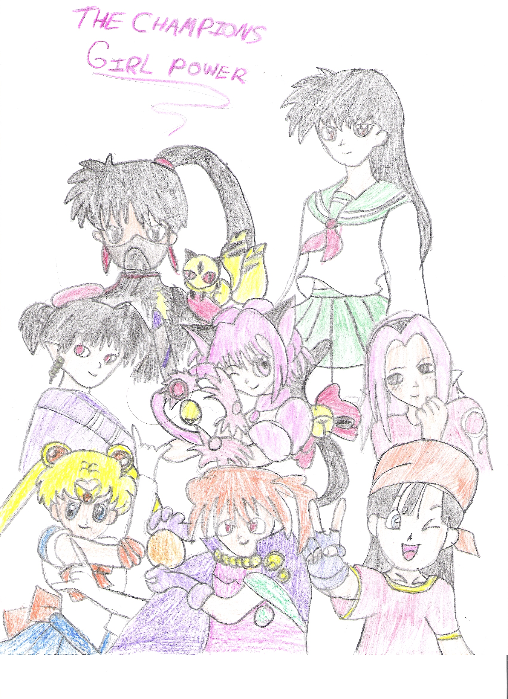 The Champions Girl Power by Arue