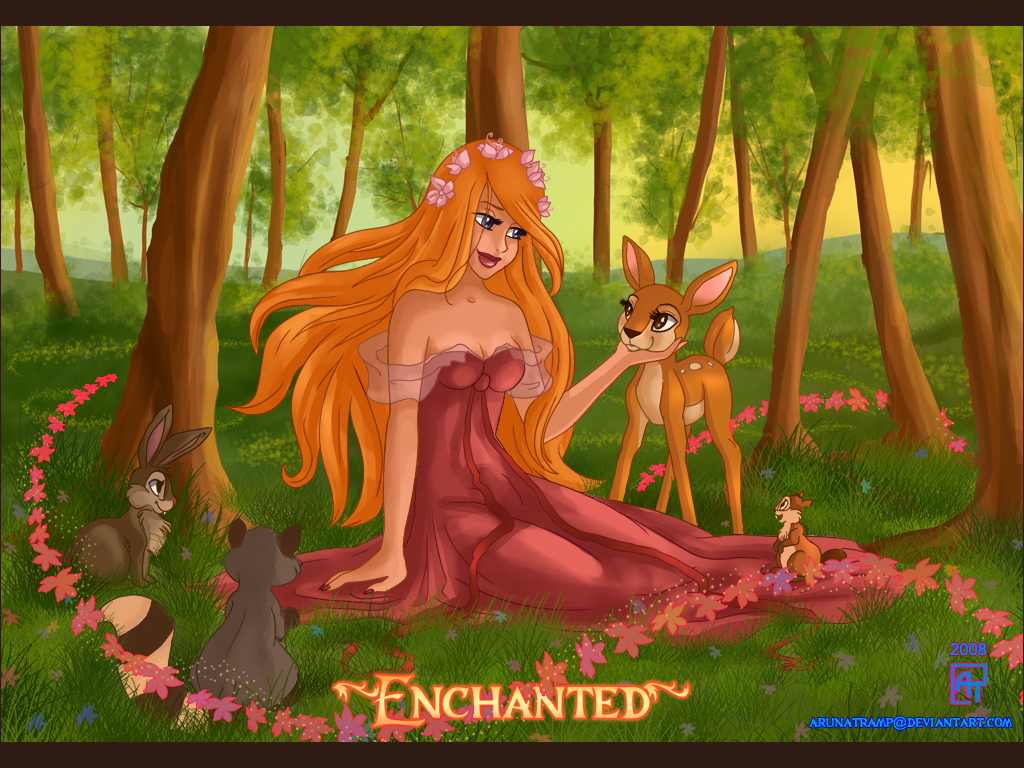 Enchanted Forest by Aruna