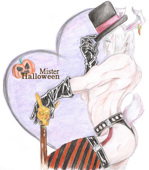 Halloween Dante by AthaMaarit