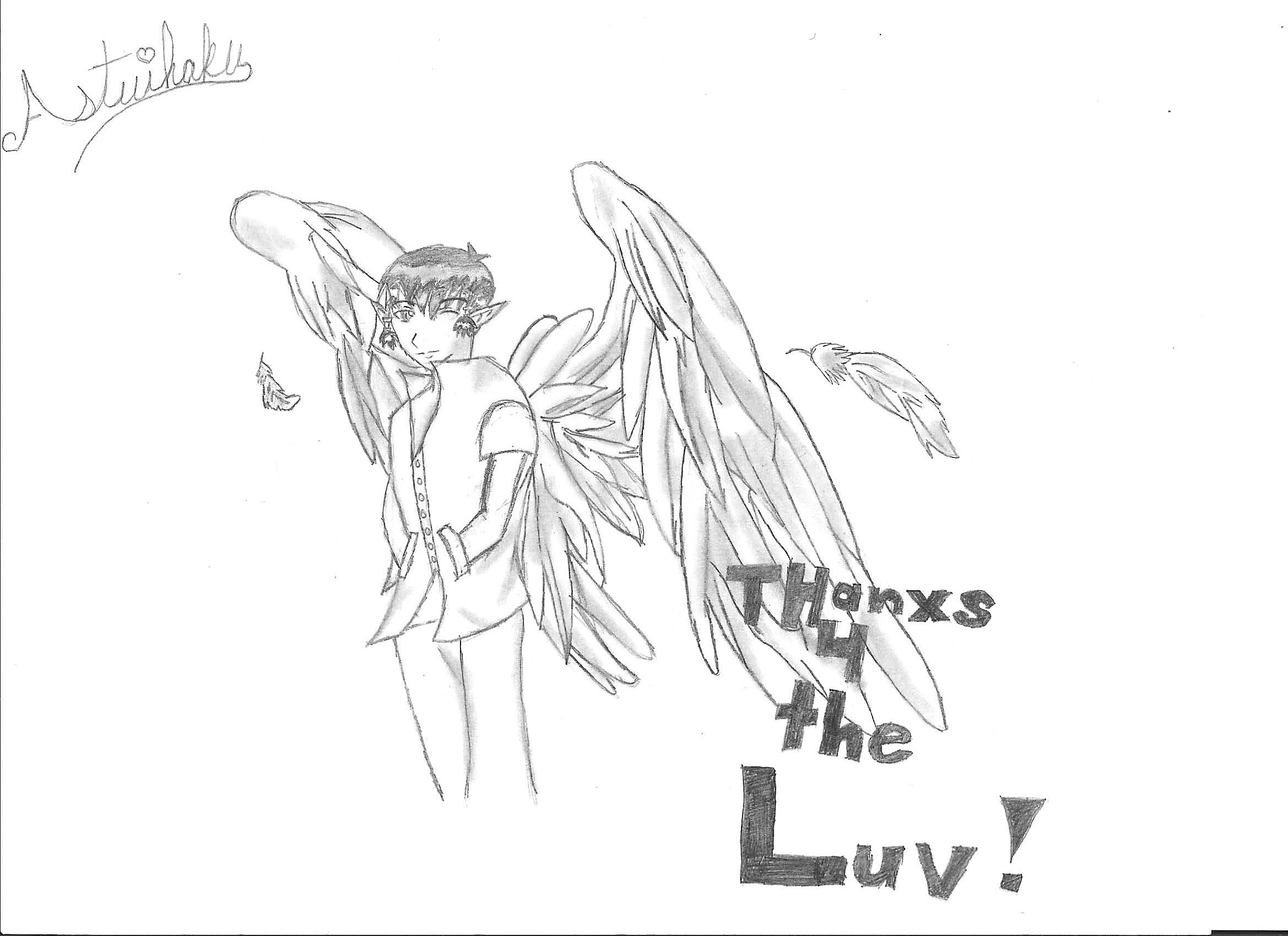 17 Year-Old Angel Kisshu by Atsuihaku